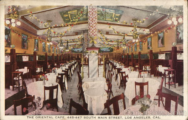 The Oriental Cafe Los Angeles California