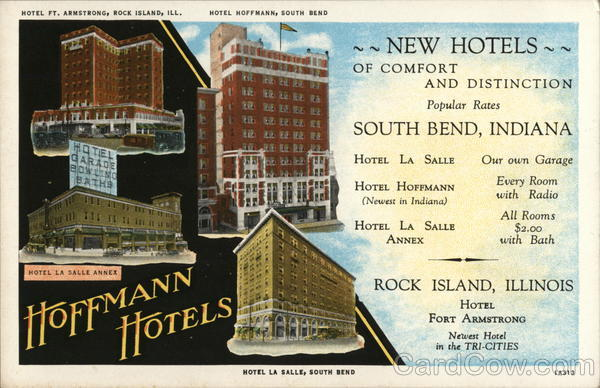 Hoffmann Hotels South Bend Indiana