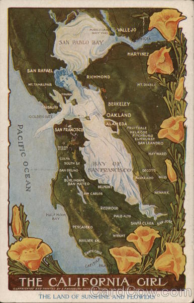 The California Girl Maps