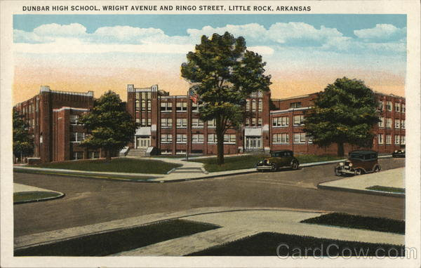 Dunbar High School, Wright Avenue and Ringo Street Little Rock Arkansas