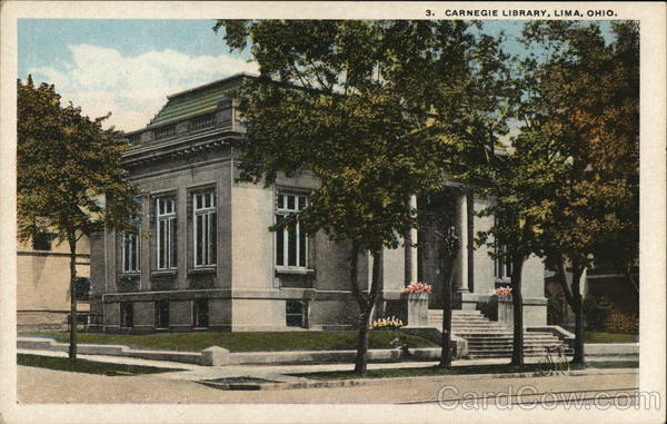 3. Carnegie Library Lima Ohio