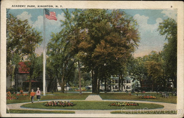 Academy Park Kingston New York