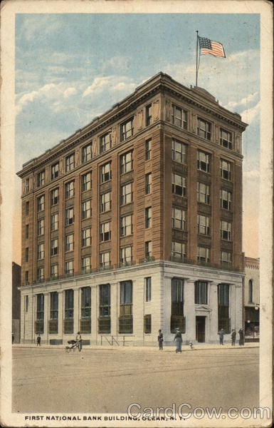 First National Bank Building Olean New York