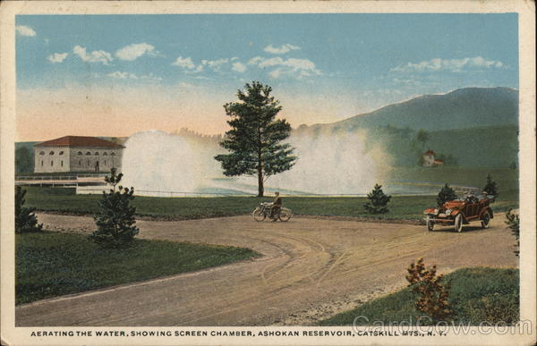Aerating the Water, Showing Screen Chamber, Ashokan Reservior Catskills New York