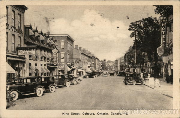 King Street Cobourg Canada Ontario