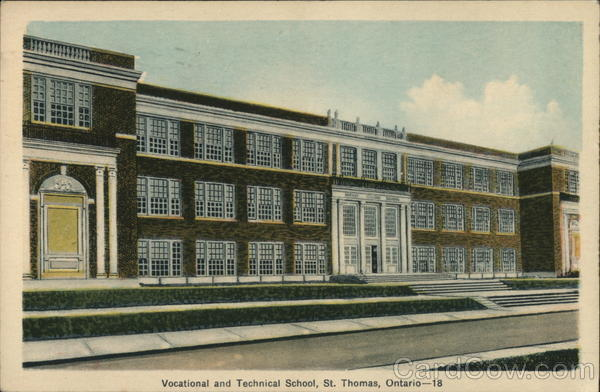 Vocational and Technical School St. Thomas Canada Ontario