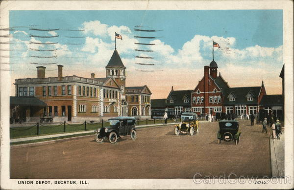 Union Depot Decatur Illinois