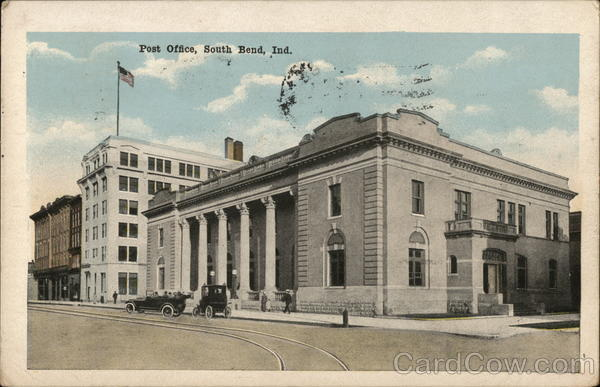 Post Office South Bend Indiana