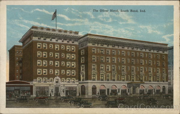 The Oliver Hotel South Bend Indiana