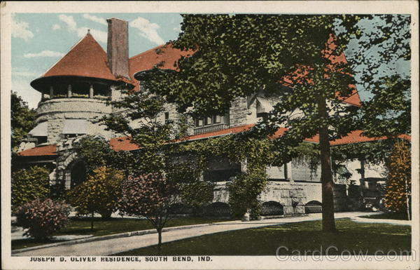 Joseph D. Oliver Residence South Bend Indiana