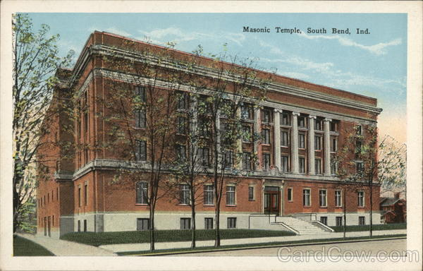 Masonic Temple South Bend Indiana Freemasonry