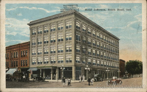 Hotel Jefferson South Bend Indiana