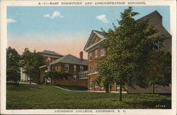 Anderson College - East Dormitory and Administration Building