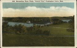 "Metropolitan Water Works, ""General View,"" Framingham Centre, Mass."