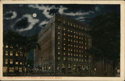 Hotel Bancroft at Night