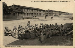 U. S. National Army Cantonment, Camp Lee Postcard