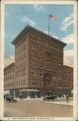 New Sherwood Hotel Postcard