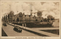 The Bluff House Postcard