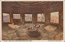 """The Kiva""-Desert View, Grand Canyon National Park"
