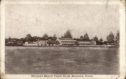 Madison Beach Yacht Club Postcard