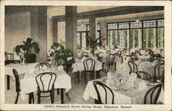 Child's Blaisdell Hotel - Dining Room