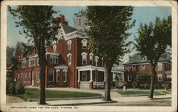 Methodist Home for the Aged Postcard