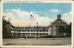 New Jersey State Barracks, Built in 1758