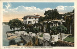 F. S. Hatings Residence and E. C. Benedict's Pergola