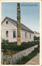 Kicksetti Totem and Sun House
