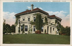 President's Home, University of California