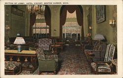 Section of Lobby, Hotel Vincent