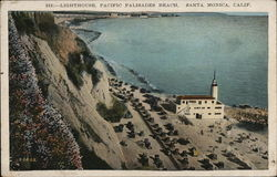 Lighthouse, Pacific Palisades Beach