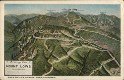 Birds-eye View of Mount Lowe
