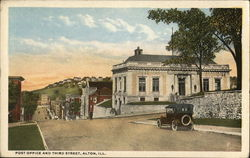 Post Office and Third Street