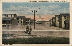 U.S. National Army Cantonment, Camp Gordon
