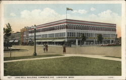 Long Bell Building, Commerce Ave Postcard