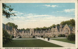 Dormitory Quadrangle, Duke University
