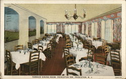Terrace Dining Room, Princeton Inn