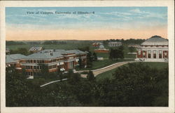View of Campus, University of Illinois