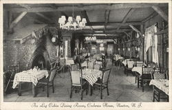 Cochran House - Log Cabin Dining Room