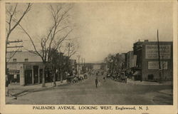 Palisades Avenue Looking West