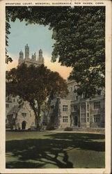 Yale University - Branford Court, Memorial Quadrangle