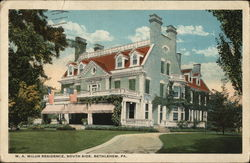 W.A. Wilur Residence, South Side
