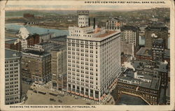 Bird's-Eye View from First National Bank Building Showing the Rosenbaum Co. New Store