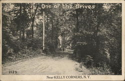One of the Drives Near Kelly Corners, NY