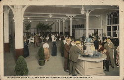 New York State Reservation - Interior of Drink Hall
