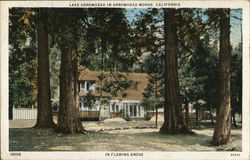 Fleming Grove, Lake Arrowhead in Arrowhead Woods