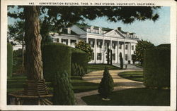 Thos. H. Ince Studios - Administration Building Postcard