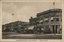Business Block, Main Street
