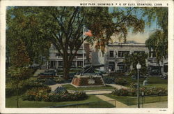 West Park, SHowing B.P.O. of Elks